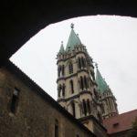 Barocke Tuerme aus Kreuzgang Naumburger Dom