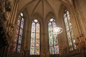 Gotische Buntfenster Naumburger Dom