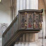 Gotische Kanzel Naumburger Doms