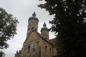 Suedtuerme Naumburger Doms