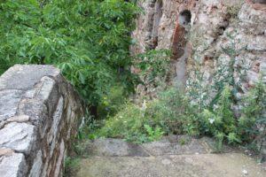 Treppen der Burg Wendelstein
