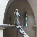 Treppengelaender Figuren Naumburger Doms