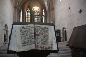 Vorlese Buch Naumburger Doms