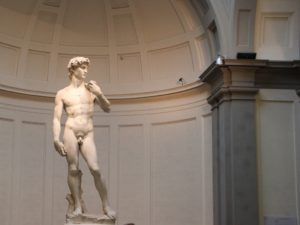 David Statue Michelangelo Florenz