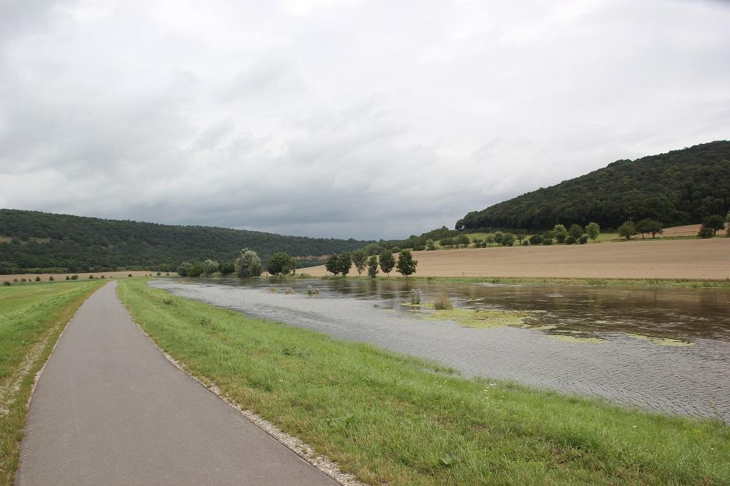 Hochwasser Unstrut Sachsen-Anhalt