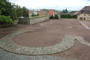 Alte Marienkirche Umfang Ruine Memleben