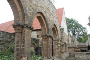 Apsis Klosterkirche Ruine Memleben