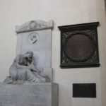 DaVinci Denkmal Santa Croce Florenz