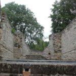 Empore Ostseite Apsis Klosterkirchenruine Memleben