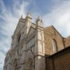 Fassade Santa Croce Florenz