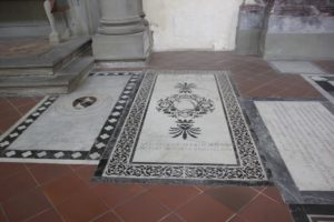 Grabstaetten Santa Croce Florenz