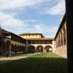 Klosterhof Santa Croce Florenz