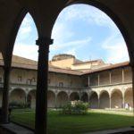 Kreuzgang Kloster Santa Croce Florenz