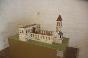 Modell Kirche Kloster Memleben