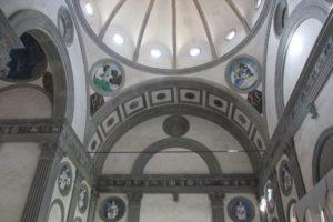 Pazzi Kapelle von Brunellischi Santa Croce Florenz