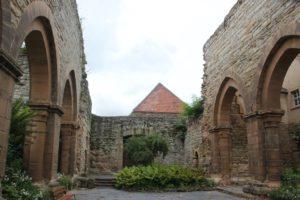 Westseite Ruine Memleben