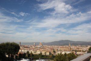Florenz Aussicht vom Piazzale Michelangelo
