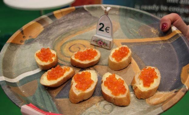 Kaviar Haeppchen