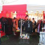 Kleidungsstand Ritterfest Diedersdorf
