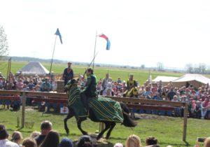 Ritter auf dem Ritterfest Diedersdorf