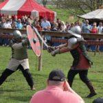 Ritter im Zweikampf