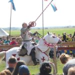 Ritter mit Lanze Ritterfest Diedersdorf
