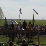 Ritter zu Pferd Ritterfest Diedersdorf