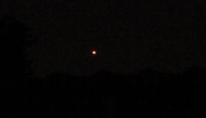 Blutmond und Mars - Vollphase