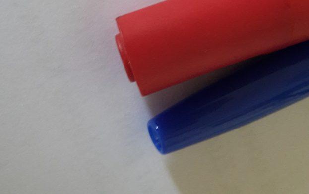 Blau Rot Stifte