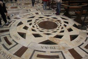 Kathedrale Florenz Boden