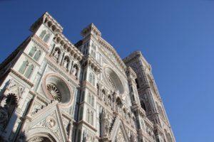 Kathedrale Florenz Fassade oben