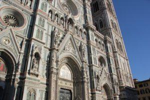 Kathedrale Florenz Fassade unten