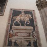 Kathedrale Florenz Reiterbild 1