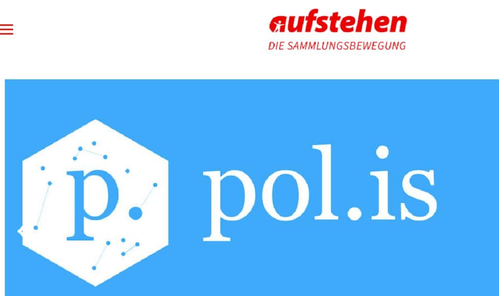 Aufstehen logo