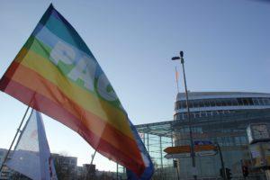 Aufstehen Demo CDU Zentrale