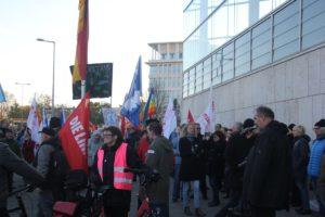 Aufstehen Demo Kundgebung vor CDU Zentrale2