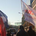 Aufstehen Demo SPD CDU 2