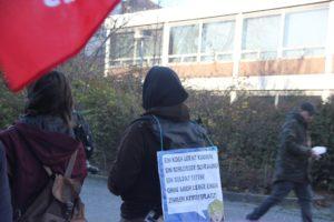 Aufstehen Demo SPD CDU