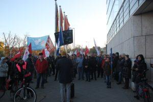 Aufstehen Demo SPD CDU Offenes Mikro