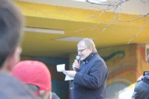 Aufstehen Demo SPD Zentrale Rede Soziologe