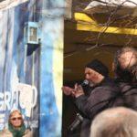Aufstehen Demo SPD Zentrale Rede Uwe Hiksch