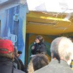 Aufstehen Demo SPD Zentrale Rede ehemalige Krankenpflegerin