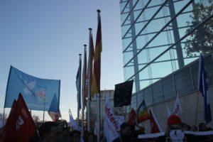 Aufstehen Kundgebung CDU Zentrale