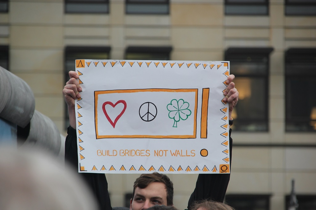 Aufstehen Kundgebung Plakat 2