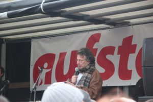 Aufstehen Kundgebung Rede Ingo Schulze