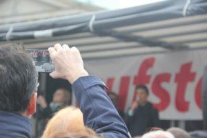 Aufstehen Kundgebung Rede Sahra Wagenknecht 2