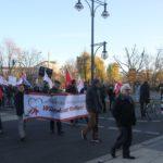 Aufstehen Kundgebung vor CDU Zentrale