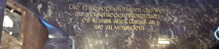 Marx zur Philosophie