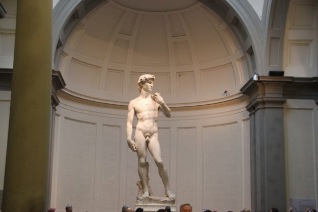11 David Michel Angelo Galleria dell'Accademia Florenz.JPG