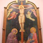 32 Gotische Kreuzigungsdarstellung Galleria dell'Accademia Florenz